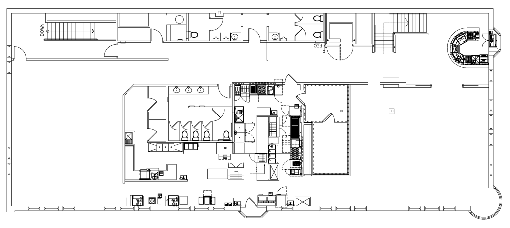 Floor Plan: No Furniture